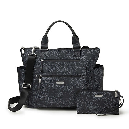 Baggallini - Convertible Backpack - Onyx Floral