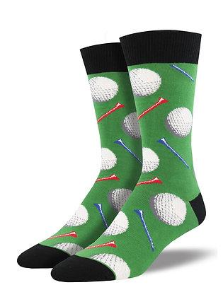 Socksmith - Tee It Up Green Men's