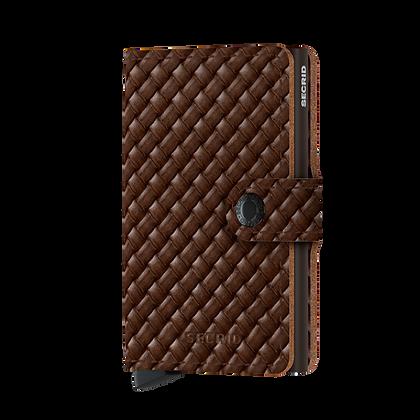 Secrid - Miniwallet Basket Brown