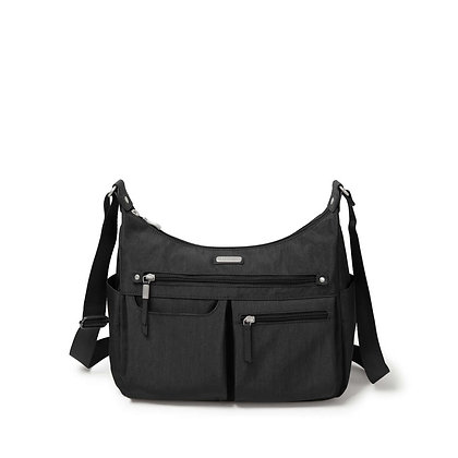 Baggallini - Anywhere Large Hobo Tote - Black