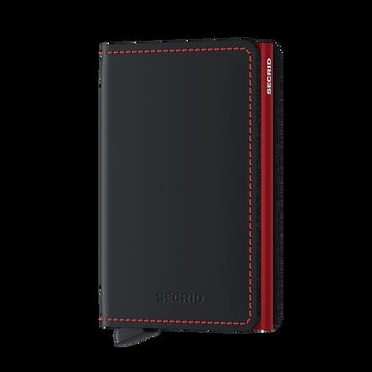 Secrid - Slimwallet Matte Black/Red