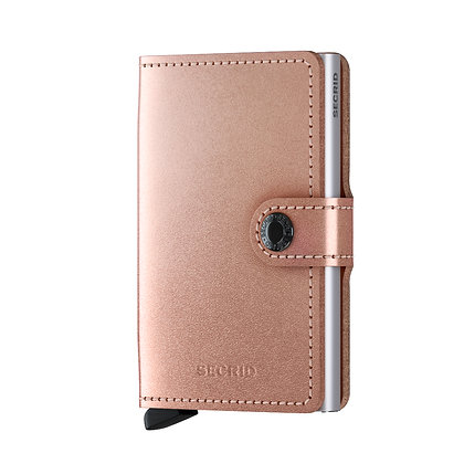 Secrid - Miniwallet Metallic Rose
