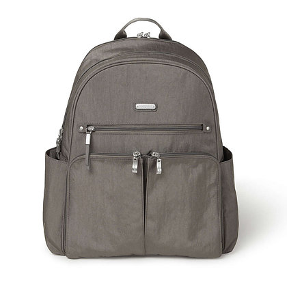 Baggallini - Here and There Backpack - Sterling Shimmer