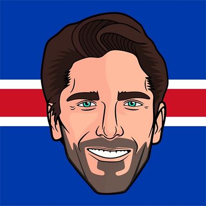 Major League Socks - Henrik Lundqvist