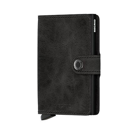 Secrid - Miniwallet Vintage Black