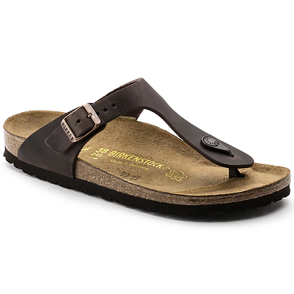 Birkenstock - Gizeh Oiled Leather Habana