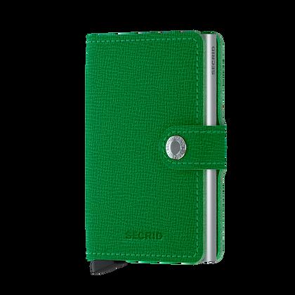 Secrid - Miniwallet Crisple Green