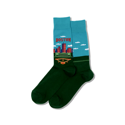Hot Sox - Boston Crew Socks Men's