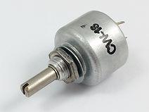 CW-18 potencjometr obrotowy cermetowy hermetyczny Telpod