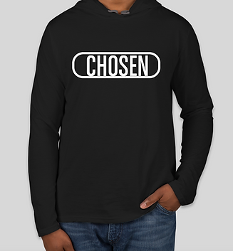 Chosen adult shirts, Tayo Reed, Tayo Reed Chosen shirts, long sleeve chosen shirt, buy chosen hoodie, Chrisitan long sleeve chosen shirt