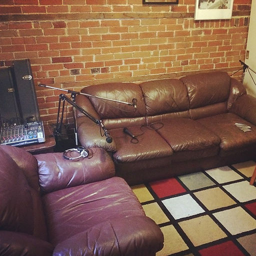 The #GreenRoom Podcast studio website la