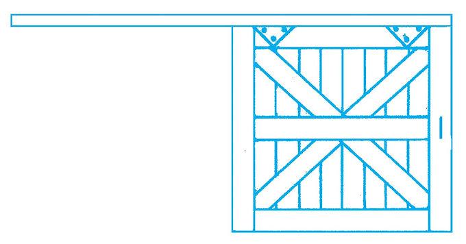 Freight Doors (4/pkg) - 203