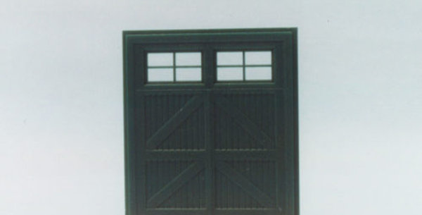 """Hinged Freight Door 10""""x9"""" - 0005"""