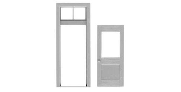 1 Lite Door & Frame - 2034