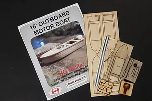 16' Outboard Motor Boat - RRA-1007
