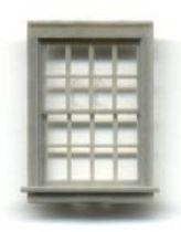 "Window 36""x56"" Double Hung 16 pane - 4026"