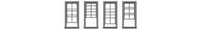 "Double Hung Open Windows 27""x62""-8069"