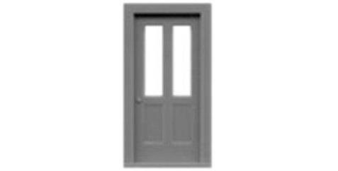 """2 Lite 2 Panel Door 35""""x80""""-8050"""