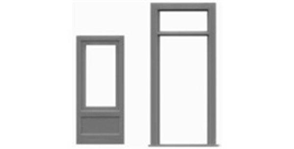 "Door & Frame/Transom 36""x80""-8116"