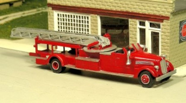 1946-51 Seagrave Aerial Ladder Truck-240