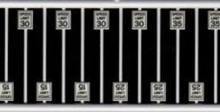 Speed Limit Signs - 2606