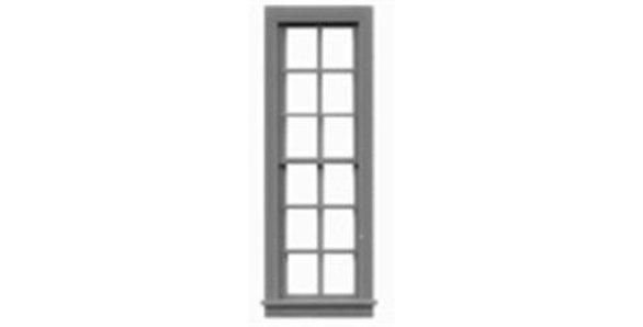 "6/6 Double Hung Window 25""x92""-8057"
