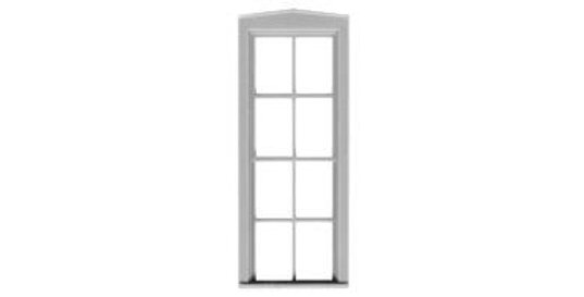 "4/4 Double Hung Window 29""x82"" - 2029"