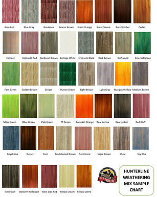HunterLine Weathering Mix - Colorado Red