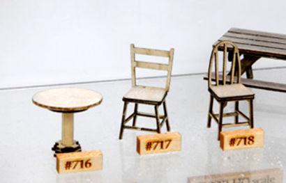 Cafe Bar Tables (4/pkg) - 716