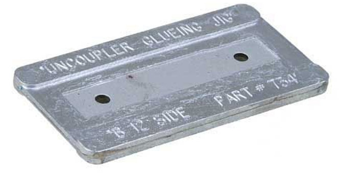 Uncoupler Gluing Jig - For installing #380-312, 321 & 322 Uncouplers - 334