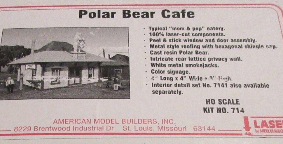 Polar Bear Cafe - 714