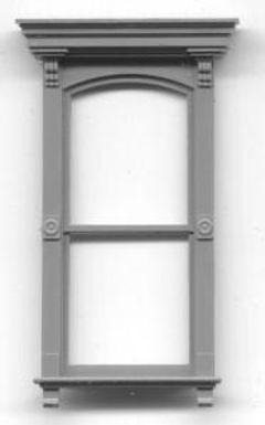 "Victorian 2-pane Window 30""x72"" (2/pkg) - 3733"