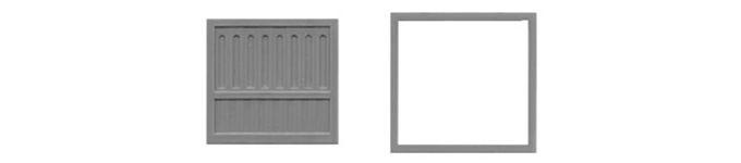 """Loading Dock Door 78""""X78""""-8066"""