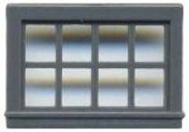 8 Pane Double Hung Window 52″x33″ - 8009