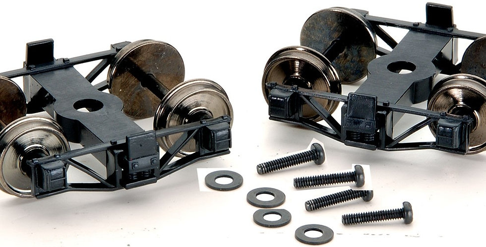 On30 Trucks with Wheel Sets (1 Pair) - 29904