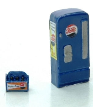 Custom Upright Soda Machine/Case Pepsi-744