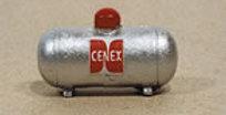 Custom Small Propane Tank-Silver-724