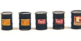 Custom Oil Barrels Black 513