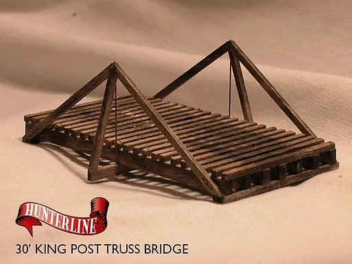 30' King Post Truss Bridge - 1119