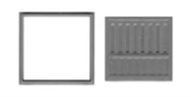 """Loading Dock Door 90""""x90"""" - 2511"""