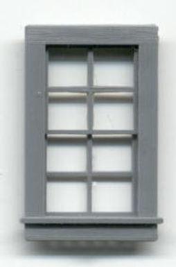 "Window Double Hung 24""x38"" - 8 Pane (3/pkg) - 4027"