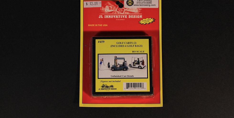 Golf Carts(2) Golf Bags(4)-JL Innovative 459