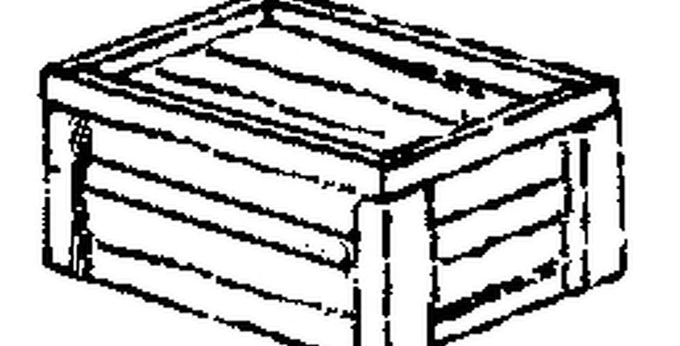 "Wooden Crate Kit 42""x30""x18"" (3/pkg) - 2152"