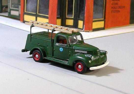 1941-47 Chevy Telephone Utility Truck-140