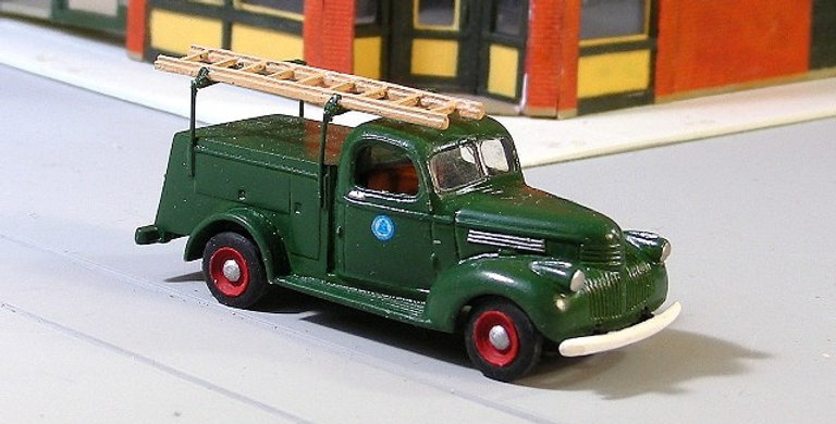 1941-47 Chevy Telephone Utility Truck-140