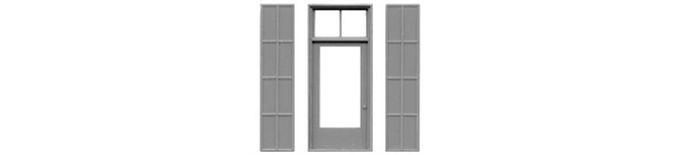 """Door & Iron Shutters 48""""x115""""-8112"""
