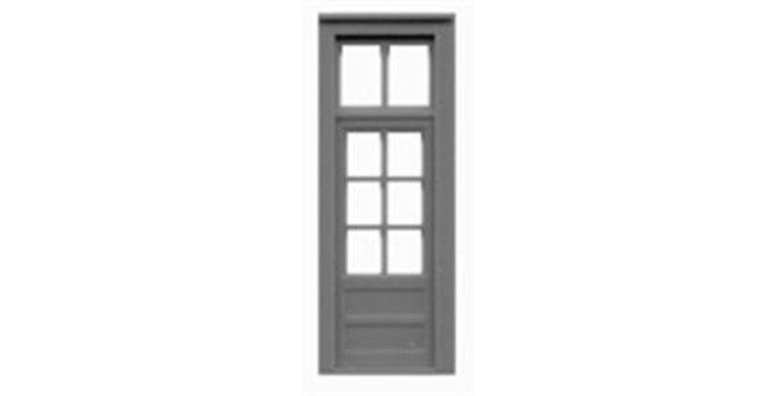"""6 Lite Door & Transom 33""""x110""""-8132"""