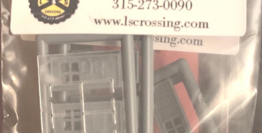 "4 Lite Masonry Door 36""x80"" - 2505"