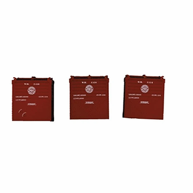Western Maryland Bulk Container 3-Pack - 2106