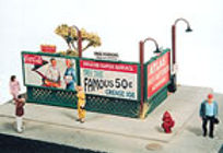 Sidewalk Lattice Billboard Kit (4 pack/16 signs) - 277